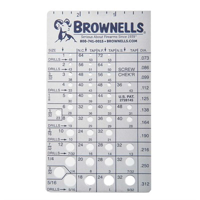 Screw Chek&039;r Brownells.