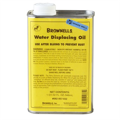 "Water Displacing Oil ""after-Bluing"" Rust Prevention Brownells."