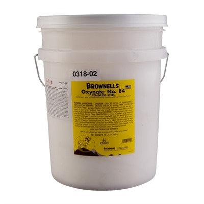 Oxynate® No. 84 - Hot Chemical Bluing Compound Brownells.