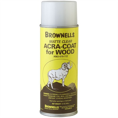 Acra-Coat-Wood Brownells.