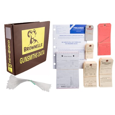 Gun Shop Record-Keeping Starter Kit Brownells.