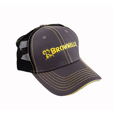 Charcoal/yellow Cap Brownells.