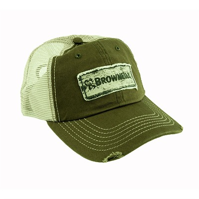 Green/khaki Cap Brownells.