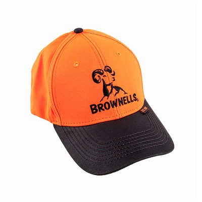 Blaze Orange/brown Cap Brownells.