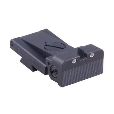 1911 Adjustable Rear Night Sight Ed Brown.