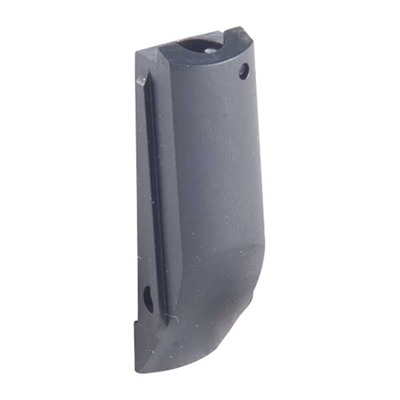 "Eliminates the sharp profile at the rear of the grip that can ""print"" when carrying a concealed 1911 Auto. Reduces bulk without ..."