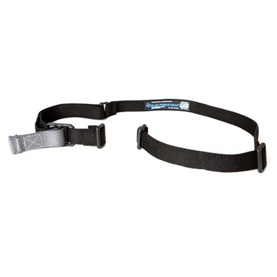 Two-point sling with quick adjustment strap lets the operator change sling length without creating loose ends that can tangle with other gear. ...