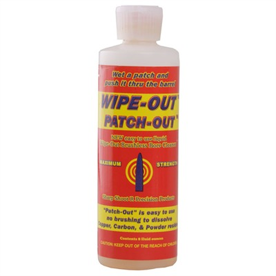 Wipe-Out Patch-Out Sharp Shoot R.