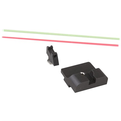 Sevigny Series Fiber Optic Sight Set For Glock® Warren Tactical Series.