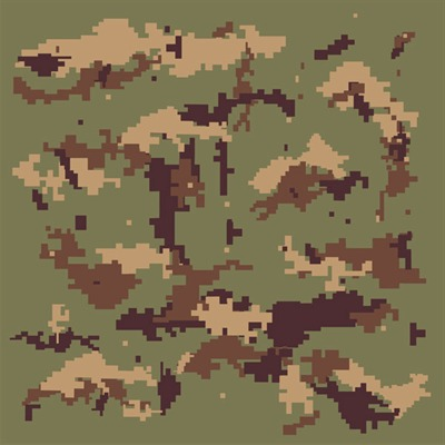 Bulldog arms camouflage stencils brownells for Camo paint template