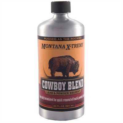 "Montana X-Treme ""cowboy Blend"" Lead & Powder Solvent Western Powders, Inc.."