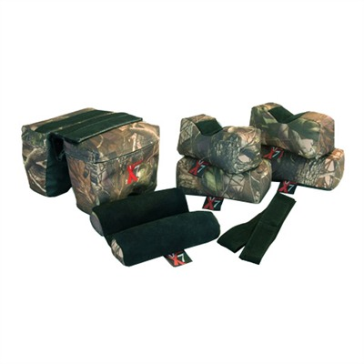 Complete 7 bag set includes: 1 vise grip bag, 2 rectangular bags, 2 owl/rabbit ear bags, 2 zippered sleeve ...