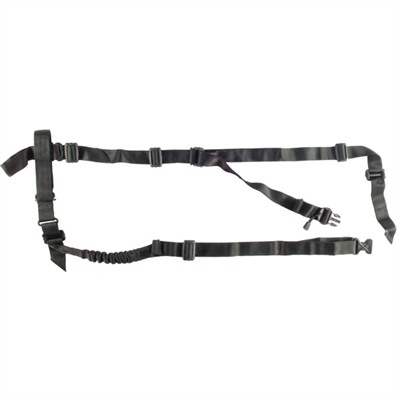 """Tactical Holds Everything"" model adds one- and two-point carry options to the three-point configuration of the original Mamba Sling. Quickly and easily ..."