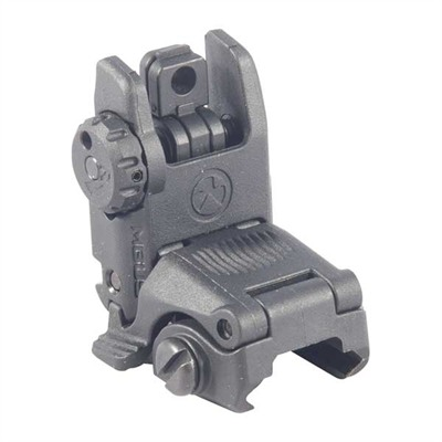 Low-profile, flattop-mounted, polymer sights deploy instantly at the touch of a finger to provide backup sighting if a primary optic fails. Streamlined ...