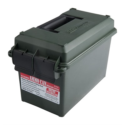MTM ammo cans are a great way to store bulk or boxed ammo. Its all plastic design is lighter in weight than ...