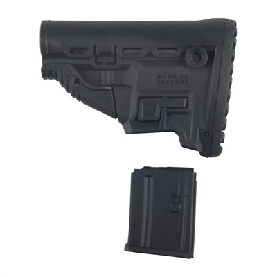 Ar-15 Survival Stock Collapsible Mil-Spec Fab Defense.
