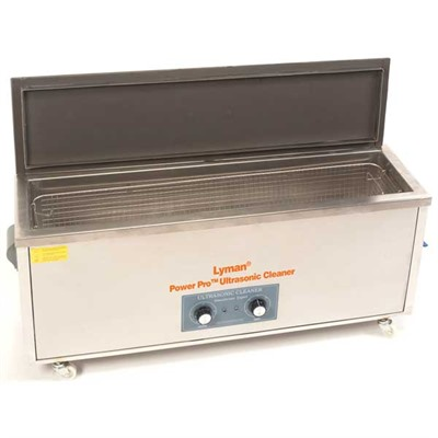 Turbo Sonic Power Professional Ultrasonic Cleaner Lyman has introduced the market's largest and most powerful ultrasonic cleaning system: The Turbo Sonic Power ...