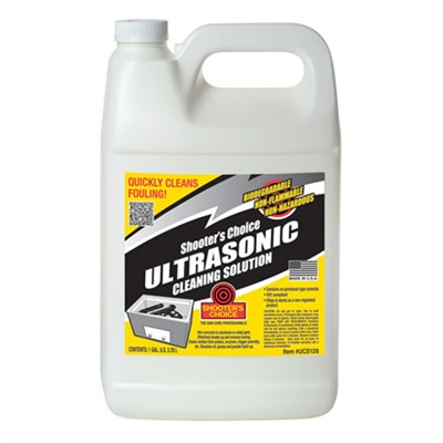 Ultrasonic Cleaning Solution Shooters Choice.