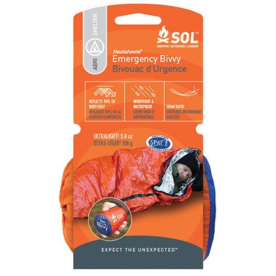 Sol Emergency Bivvy Adventure Medical Kits.