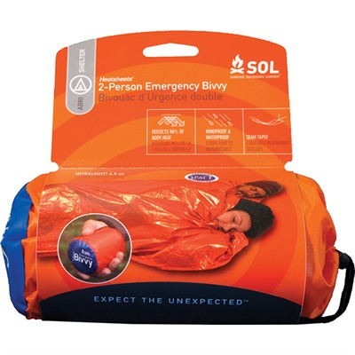 Sol 2-Person Emergency Bivvy Adventure Medical Kits.