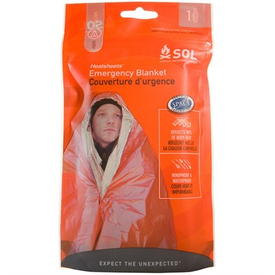 Sol Emergency Blanket Adventure Medical Kits.