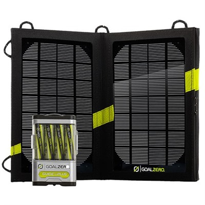 Guide 10 Plus Solar Recharging Kit Goal Zero.