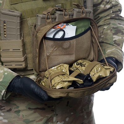 Tactical Medical Solutions Trauma Kits: Combat Medic Pouch Tac Med Solutions.