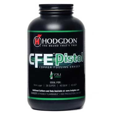 Cfe Pistol Powder Hodgdon Powder Co., Inc..