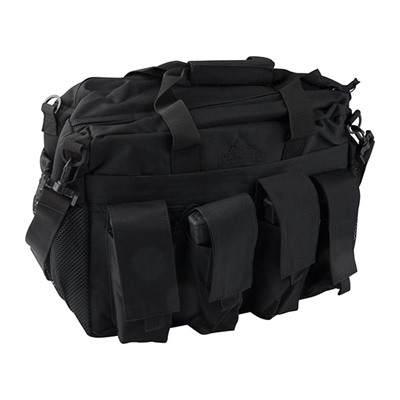 Velcro closure two strap carry handle  Padded internal compartment with padded divider  One zippered side sleeve ...