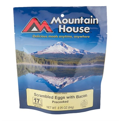 Scrambled Eggs With Bacon Mountain House.