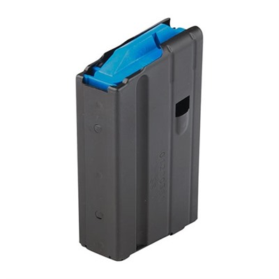 Ar-15 Magazine 6.5 Grendel Stainless Steel Black C-Products.