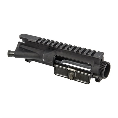 Forged aluminum flattop receiver includes fully-assembled forward assist and ejection port cover and accepts barrels with M4 barrel extensions. All final dimensions ...