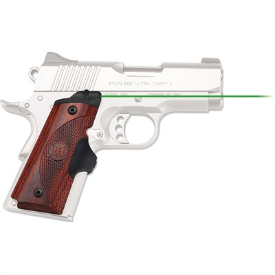1911 Full-Size Cocobolo Master Series Lasergrips by Crimson Trace Corporation