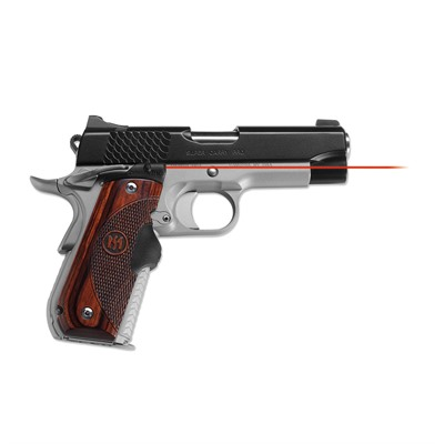 1911 Round Heel Rosewood Master Series Lasergrips by Crimson Trace Corporation
