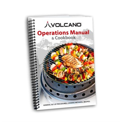 Technical Manual & Cookbook Volcano Outdoors.