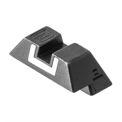 Steel Rear Sight 7.3mm Glock.