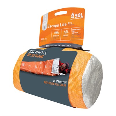 Sol Escape Lite Bivvy Adventure Medical Kits.