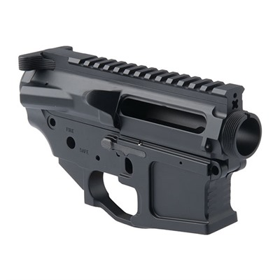 Machined billet aluminum upper / lower matched receiver sets give your rifle a custom look, and offer ambidextrous bolt release that allows ...