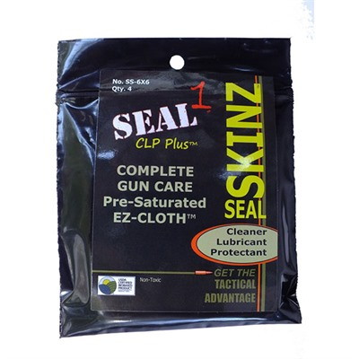 Ez-Cloth Pre-Saturated Cleaning Cloth Seal 1.