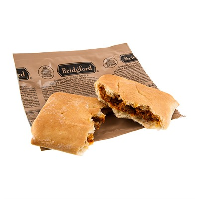 Honey Bbq Beef Shelf Stable Sandwich Bridgford.