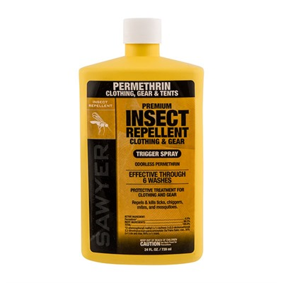 Permethrin Insect Repellent Sawyer.