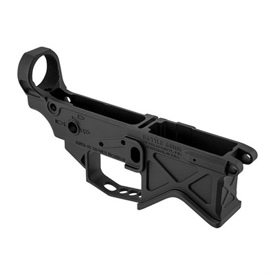 The Battle Arms Lightweight Lower Receiver is machined from 7075-T6 aircraft grade aluminum, utilizing a patent pending lightweight design. Lower weighs ...