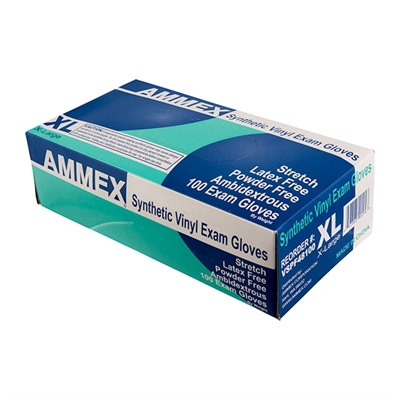 Stretch Synthetic Vinyl Exam Gloves Ammex Corp..