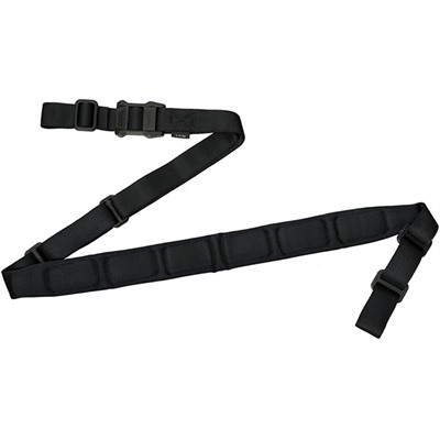 The MS1 padded sling is the latest addition to the Magpul line of rifle slings. By adding a padded section of variable-width ...