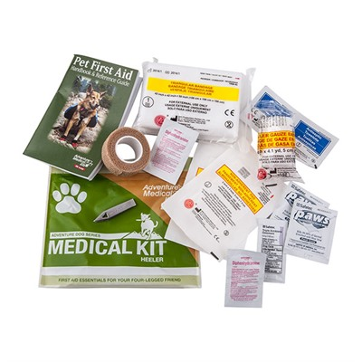 Heeler Adventure Medical Kits.