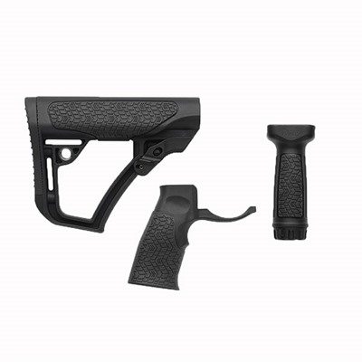 Ar-15 Furniture Set Collapsible Polymer Daniel Defense.