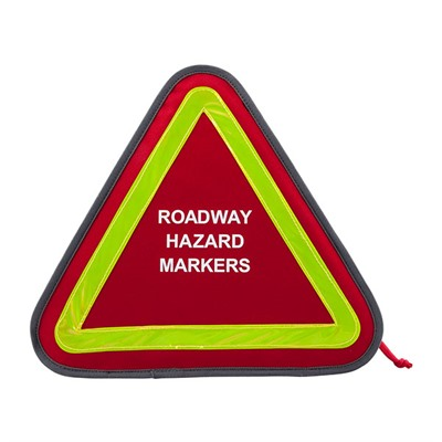 Roadway Hazard Markers Concealment Case G.p.s..