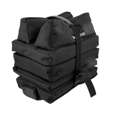 This unique bench bag set consists of 4 separate bags, two filled bags and 2 solid foam sections.  ...