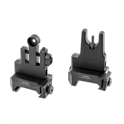Ar-15  Low Profile Lowrider Buis Sight Set Bobro Engineering.