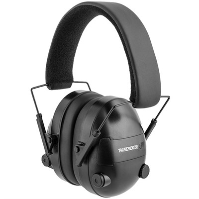 ear protection for shooting winchester electronic earmuffs winchester electronic 10438